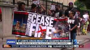 News video: Local students raise money for ceasefire movement