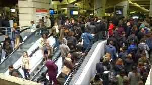News video: France: 9th round of rail strikes put reform on the line