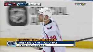 News video: Washington Capitals pull away, beat Tampa Bay Lightning 6-2 for 2-0 series lead