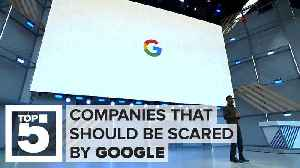 News video: Who should be scared of Google now
