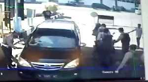 News video: Indonesia attacks: Family of five bomb police HQ in Surabaya