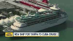 News video: New ship for Tampa-to-Cuba cruise
