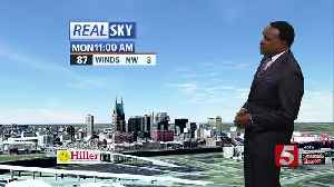 News video: Lelan's Early Morning Forecast: Monday, May 14, 2018
