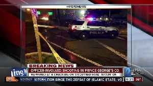News video: Prince George's County police involved shooting