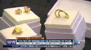 News video: Are you missing this 18kt gold jewelry lot