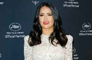 News video: Salma Hayek says Harvey Weinstein is trying to discredit women of colour
