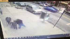 News video: Good Samaritan Rescues Two Elderly Women from Attack in NYC