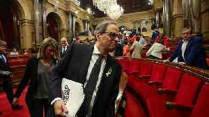 News video: Catalan parliament elects separatist Quim Torra as the Spanish region's new leader
