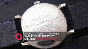 News video: Elvis watch goes up for auction