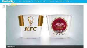 News video: KFC Commemorating Harry & Meghan's Nuptials with Special Royal Wedding Bucket