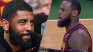 News video: Lebron James Trolled by Kyrie IRVING & Celtics Mafia after Game 1 Loss