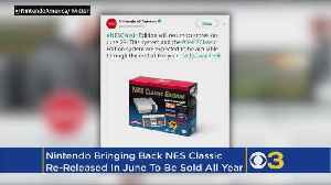 News video: Nintendo Is Re-Releasing The NES Classic In June