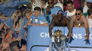 News video: Manchester City show off Premier League trophy in victory parade