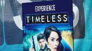 News video: Status Of NBC's 'Timeless' Up In The Air