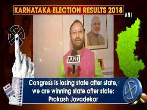 News video: Congress is losing state after state, we are winning state after state: Prakash Javadekar