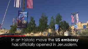 News video: US Embassy opens in Jerusalem amidst bloodshed in Gaza