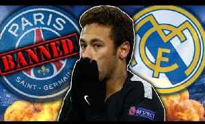 News video: Will PSG's Champions League Ban FORCE Neymar To Real Madrid?! | #VFN