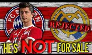 News video: BREAKING: Bayern Munich REJECT Real Madrid's HUGE Bid For Lewandowski! | Transfer Talk