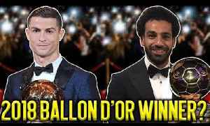 News video: Mohamed Salah Should Win The Ballon d'Or Over Ronaldo Because… | #SundayVibes
