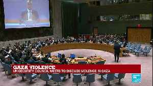 News video: REPLAY - Watch the UN Security Council meeting on violence in Gaza