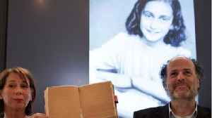 News video: Hidden Pages In Anne Frank's Diary Revealed