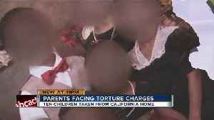 News video: Police remove 10 children from home saying they were 'tortured'