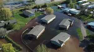 News video: Drone Footage Captures Flooding in Missoula