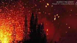 News video: Lava Explodes From Fissures in Lanipuna Gardens