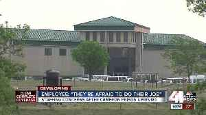 News video: Employee: Staffing shortage led to prison riot
