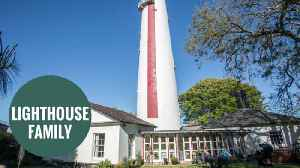 Lighthouse converted into a romantic bolthole with panoramic views