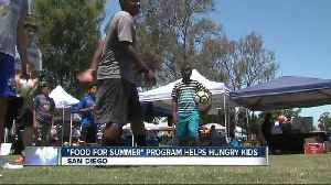 News video: Making it in San Diego: Fuel for Summer program feeds kids