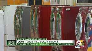 News video: Don't wait until Black Friday for these electronic sales
