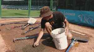 News video: Pirates' Grounds Crew Teaches Tricks Of Trade To Area Ball Park Groundskeepers