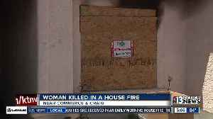 News video: Neighbor talks about woman killed in house fire