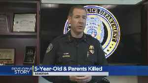 News video: Stockton Police Chief Pledges All Available Officers To Investigate Family's Senseless Killing