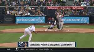 Padres starters look to continue going deep in games
