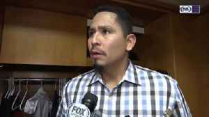 Carlos Carrasco's belief in the bullpen doesn't waver, expects good things to come [Video]