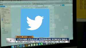 News video: Navy veteran's stolen email address used to create bogus Russian-linked Twitter account