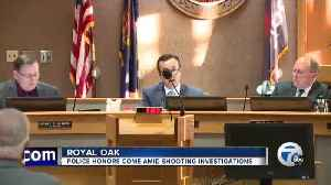 News video: Royal Oak celebrating drop in crime as two police involved shootings are under investigation