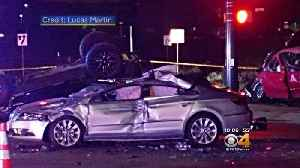 News video: 'God Protected Me': Broncos' Henderson Suffers Injuries In 4-Car Crash