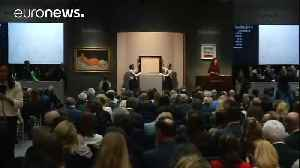 News video: Modigliani nude fetches $157.2 million at Sotheby's auction