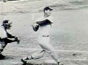 News video: WBZ Archives: Ted Williams Hits His 300th Homerun
