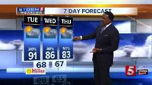 News video: Lelan's Early Morning Forecast: Tuesday, May 15, 2018