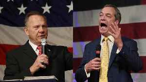 News video: Nigel Farage Admits Supporting Roy Moore Was A 'Mistake'