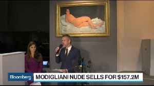 News video: Modigliani Nude Sells for $157.2 Million