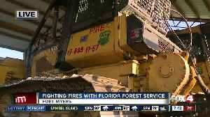News video: Fighting fires with the Florida Forest Service - 7:30am live report