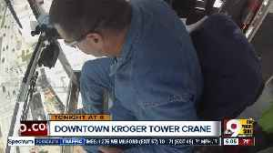 News video: Crane operator Steve Lancaster is afraid of heights