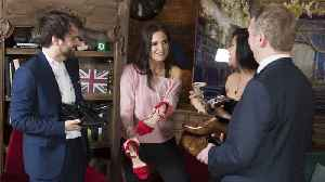 News video: Binky Felstead is looking forward to a 'big British' royal wedding day