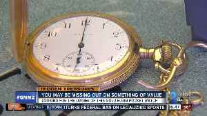 News video: Are you missing a gold Elgin pocket watch?