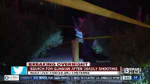 News video: 24-year-old man killed near Civic Center and Cheyenne